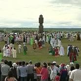 Народные праздники: Ысыах, Янов день, праздник Нового солнца и Гербер
