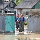 Казаки: Помощь жителям Крымска после наводнения
