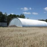 Сельское хозяйство: Новый ангар для хранения корма