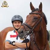 Спортсмен КСК Левадия - победитель первенства Москвы по конкуру