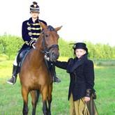 Выездное костюмированное конное шоу