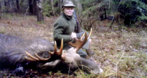 Охота на лося в Рязанской области