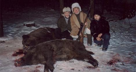 Охота на кабана в Рязанской области