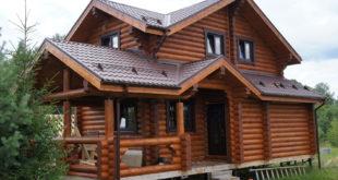 Строительство загородного дома из дерева